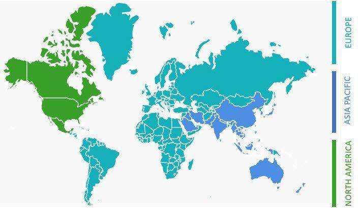 Arsandis weltweit