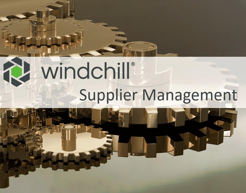 Windchill Supplier Management