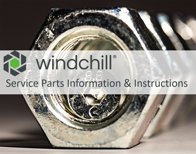 Windchill Service Parts Information & Instructions