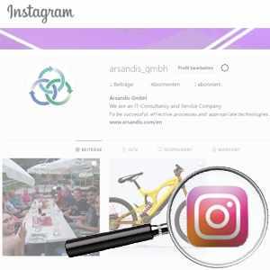 Link To Arsandis Instagram Profile