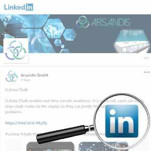 Link To Arsandis Linkedin Profile