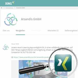 Link Zu Arsandis Xing Profil