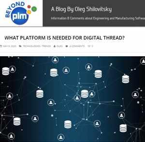 PLM Digital Thread Blog