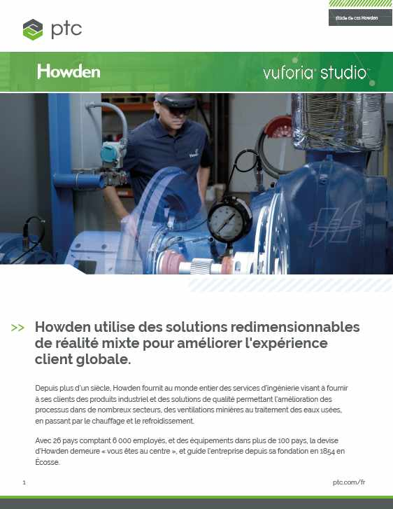 Case Study Vuforia Studio Howden