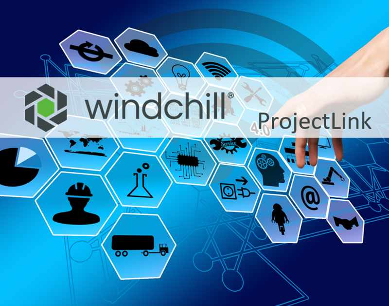 Windchill ProjectLink Produkt Seite