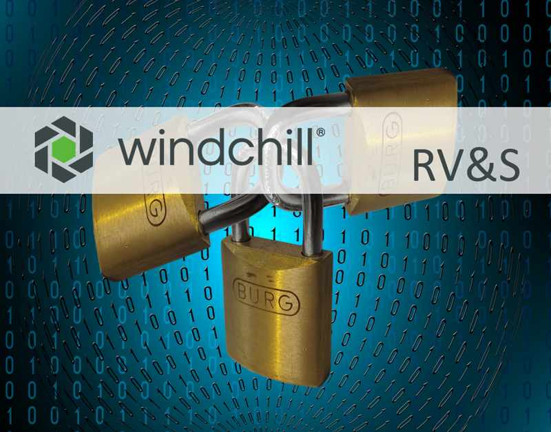 Windchill RV&S Produkt Seite
