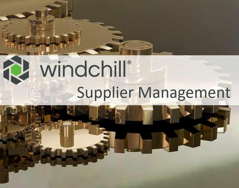 Windchill Supplier Management Produkt Seite