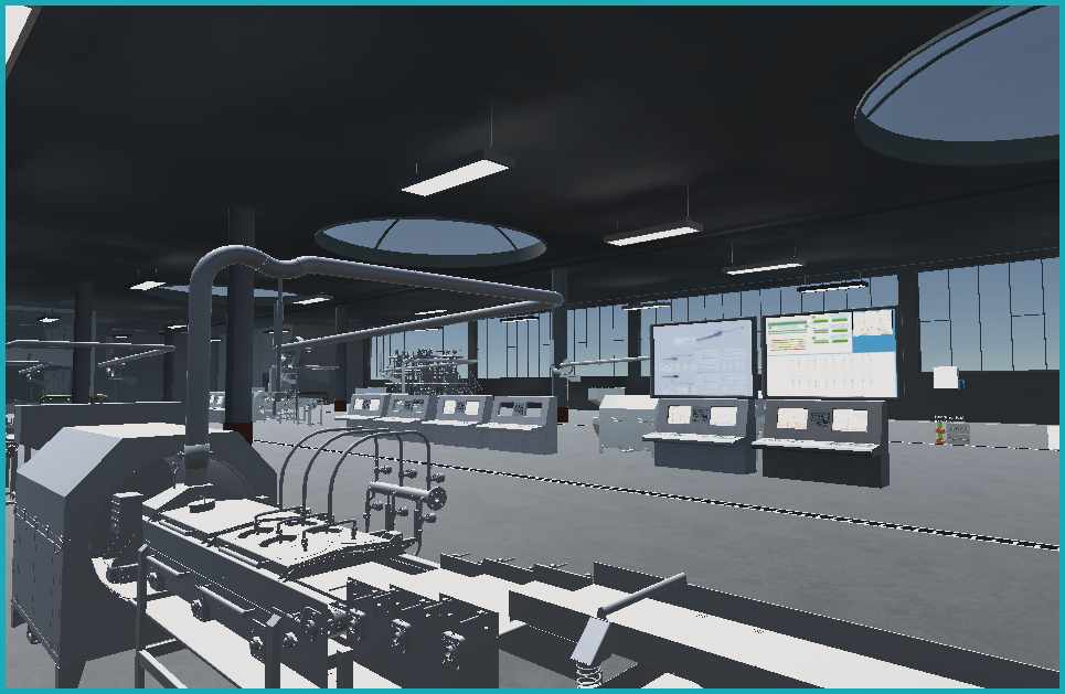 Virtual Factory Inside View
