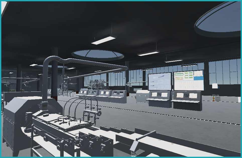 Virtual Factory Innen Ansicht