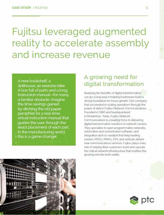 Projektreferenz Vuforia Engine Fujitsu